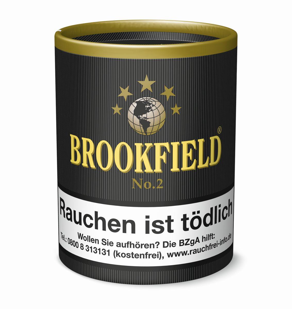 Brookfield No. 2 Pfeifentabak  Dose á 200 gr. zu 17,50